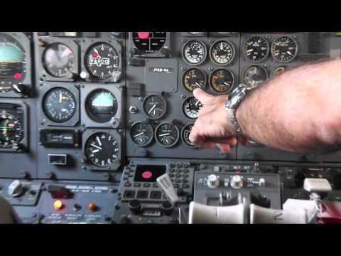 Boeing 737-200 Walk Around and Engine Start  at Baker Aviation