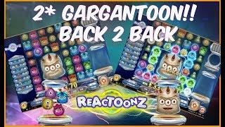 REACTOONZ MEGA WIN!! - 2 Gargantoon Wins Back To Back! ( Online Slots )