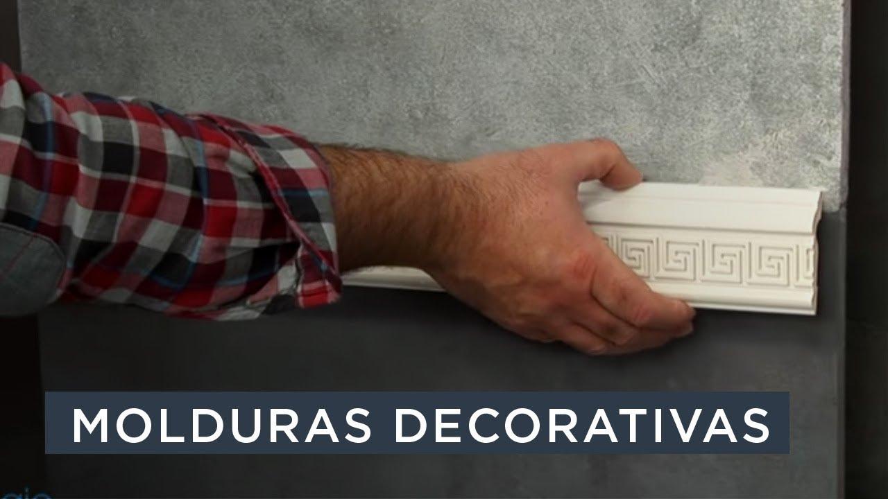 Molduras decorativas nmc youtube - Molduras decorativas pared ...