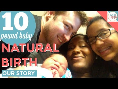 Our Natural Birth Story : A Hypnobirthing Water Birth Labor and Delivery