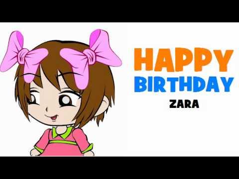HAPPY BIRTHDAY ZARA!