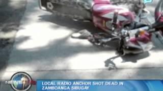Local radio anchor shot dead in Zamboanga Sibugay
