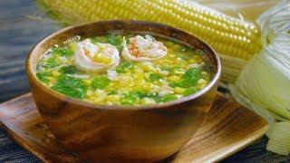 Suam na Mais (Filipino Corn Soup) [ASMR] 🎧