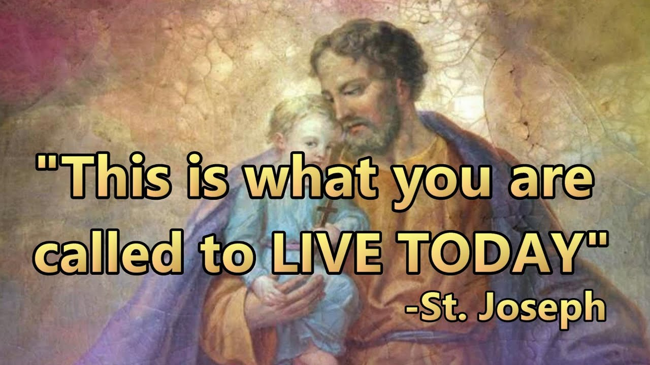 God's Church - Apparition of St. Joseph to the visionary Sister Lucia de Jesus on 6/19/2020