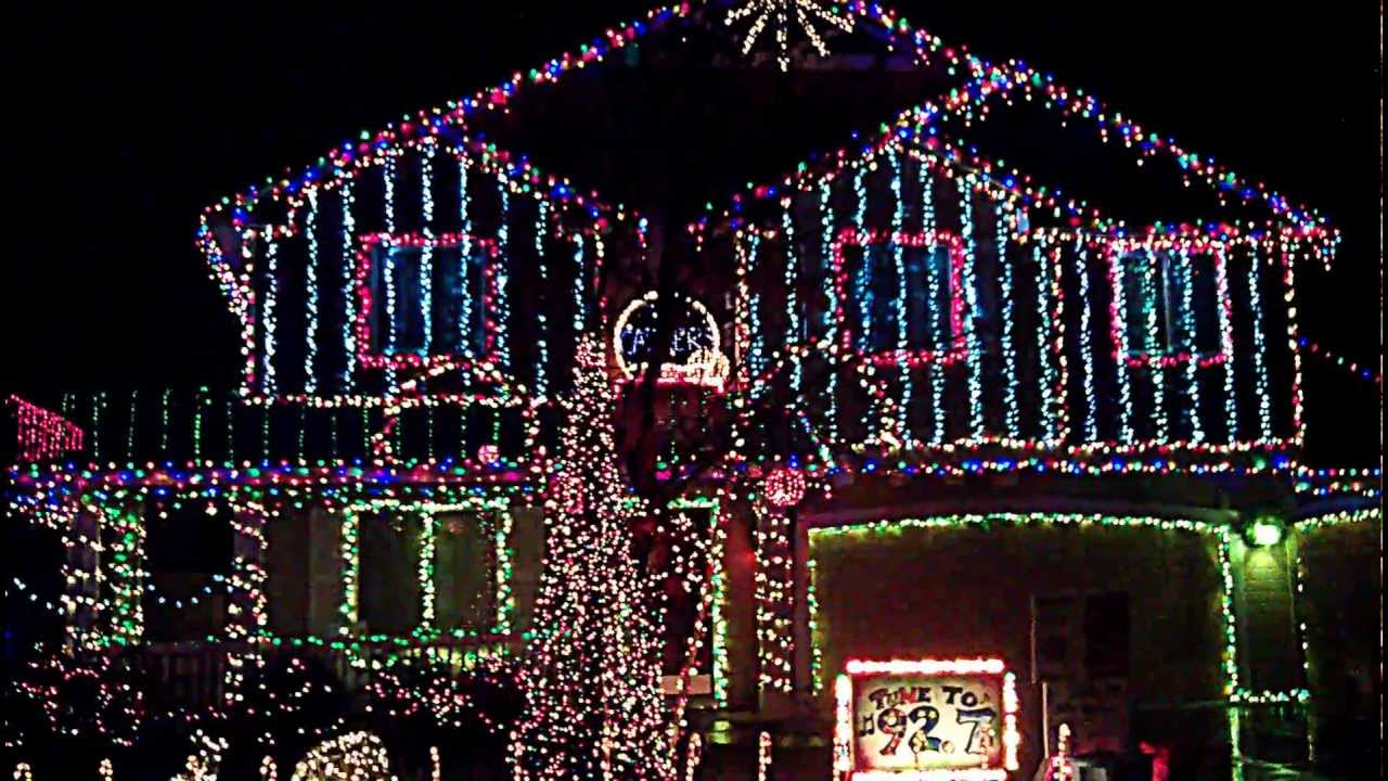 Cadger Family Christmas Light House in Meridian Idaho 2012 - YouTube