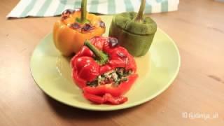 Как приготовить фаршированные перцы в духовке | Нестандартный рецепт фаршированных перцев