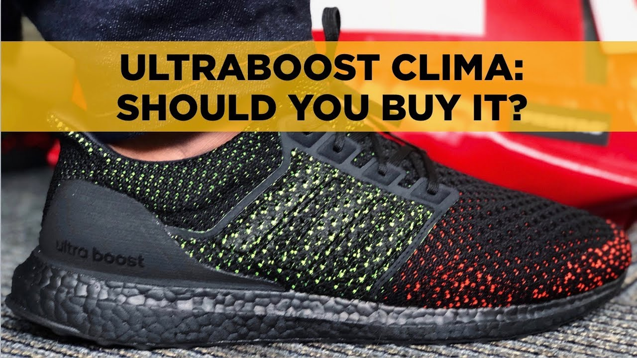 adidas clima ultra boost solar red