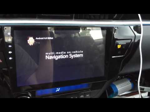 Toyota Corolla 2014 Firmware Update HuiFei S07