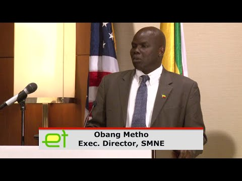 Obang Metho's Speech at a Town Hall Meeting discussing the Ethiopian Muslim Arbitration Committee