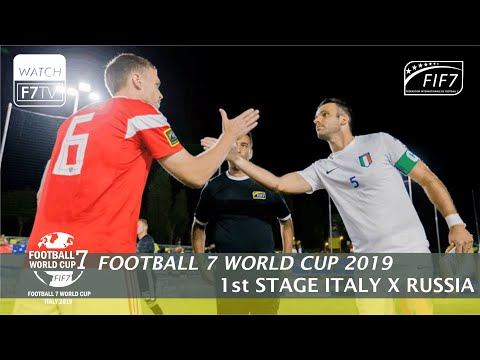 Italy Vs Russia - Football 7 World Cup 2019 - 1st Stage (Men)