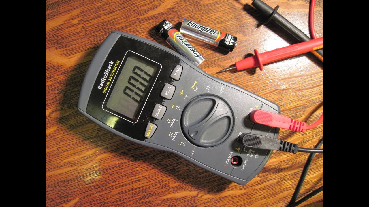 How To Measure Voltage With A Digital Multimeter Youtube Mean On Power Supply Can39t Read Any Using Dvm The Plug