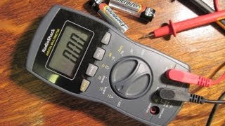 How to Measure Voltage with a Digital Multimeter