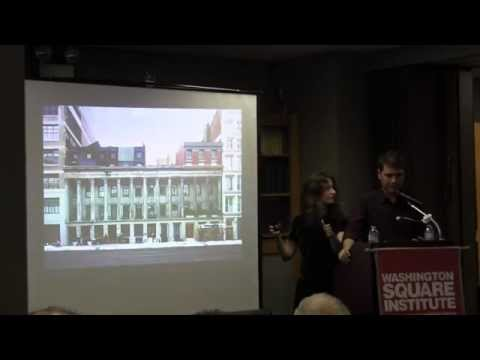Footprints in New York with authors James and Michelle Nevius