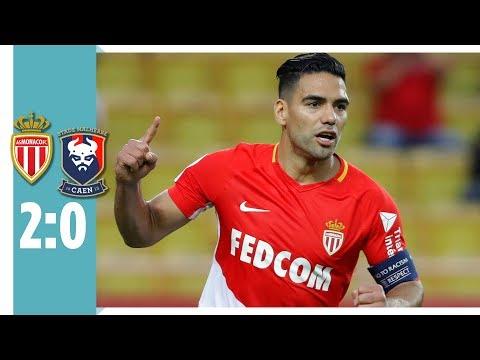 AS Monaco - SM Caen 2:0 / Falcao & Keita Baldé treffen für den Meister
