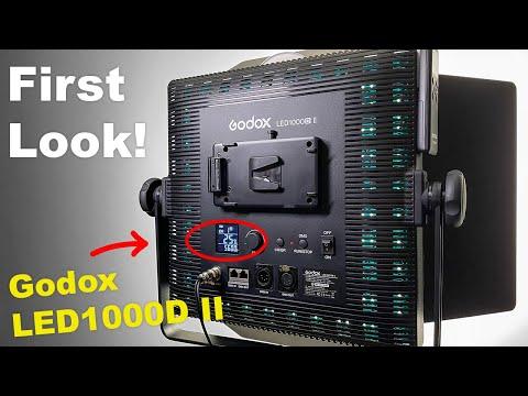Godox LED1000D II LED Panel Light- Real World Use & Review