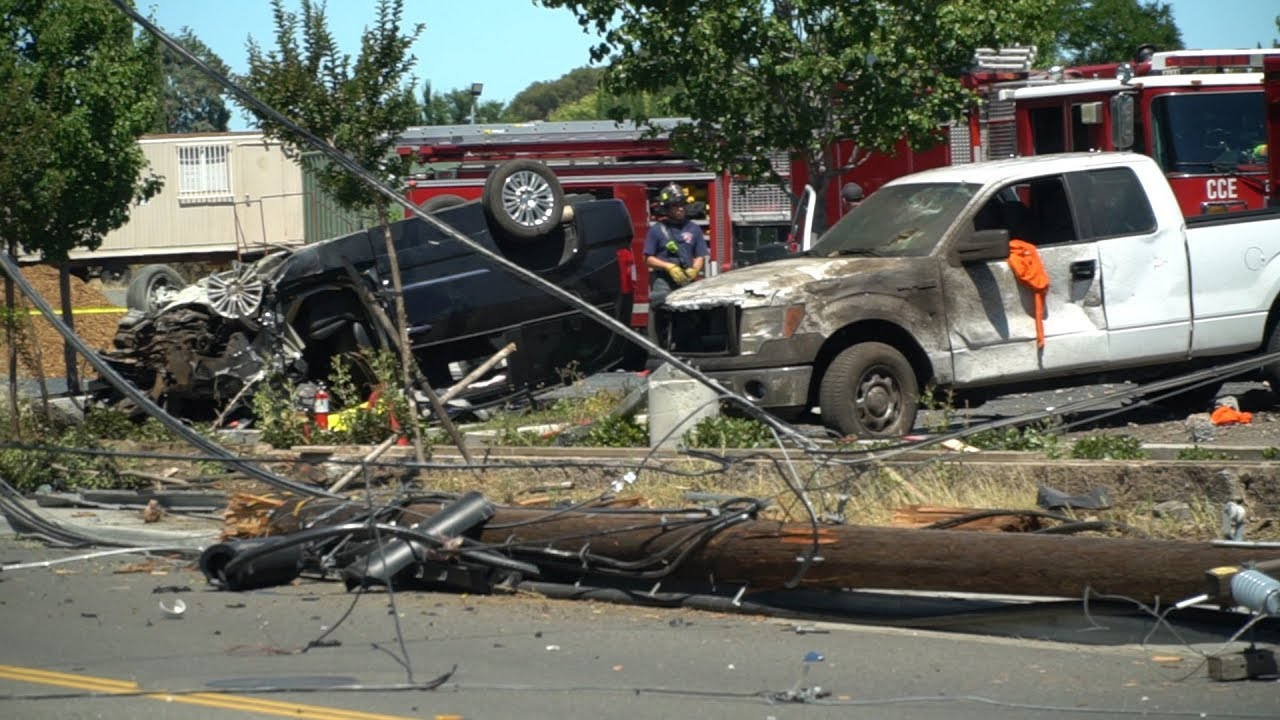 East Contra Costa County CA Firefighters Fatal Crash Raw News