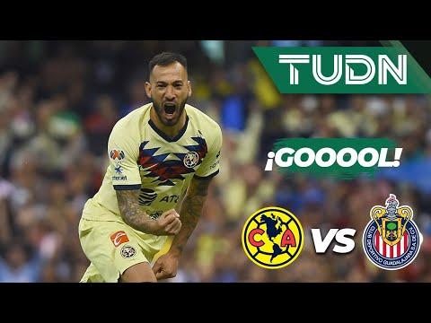 Cae el tercero del América | América 3 - 1 Guadalajara | Liga MX - Apertura 2019  Jornada 12 | TUDN