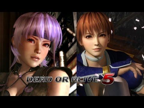 Dead Or Alive 5: Versus Mode Ayane vs. Kasumi Gameplay