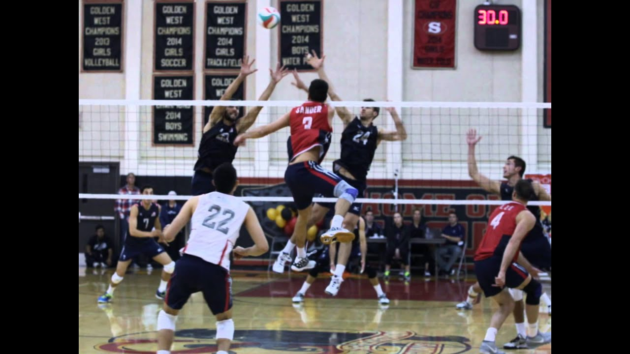 USA Men's Volleyball Team Scrimmage May 2015 - YouTube