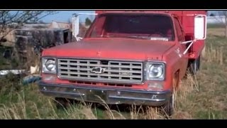 1975 Chevrolet C20 Dump truck final Inspection