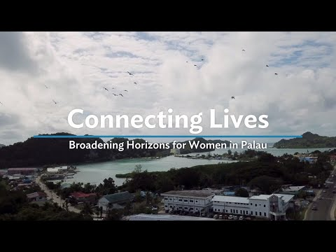 High Speed Internet is Connecting Palau Women to New Opportunities