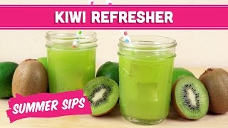 Kiwi Refresher Juice! Summer Sips In Sixty Seconds - Mind Over Munch