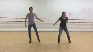 """Tap choreography: """"Cheerleader"""" by Pentatonix (OMI cover)"""