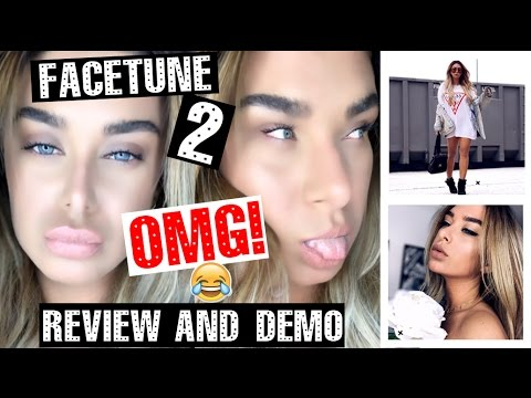 Facetune 2 - REVIEW & DEMO photo editing app