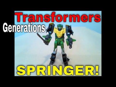 Transformers Generations Voyager Class Springer - GotBot True Review NUMBER 75