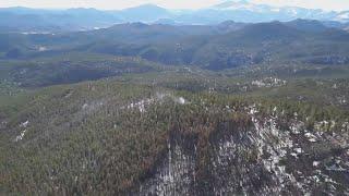Hot Spots Continue To Burn In Cameron Peak Fire
