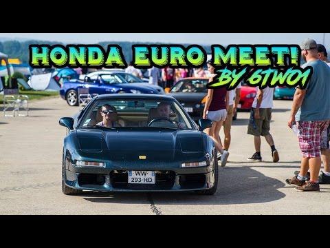 BIGGEST HONDA MEET IN EUROPE!!! Honda Euro Meet 2016 ! HEM 2016 / 6TWO1
