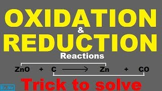 Oxidation and Reduction Reactions | very easy way to understand |in hindi |by Er.Sir