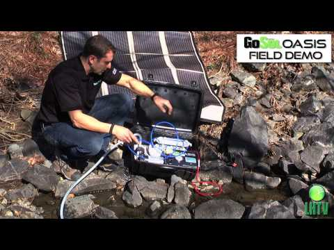 How to Use a Stream as an Emergency Water Supply