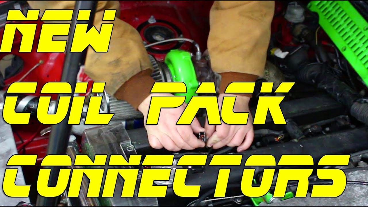 How To New Coil Pack Connectors 1jzgte 2jzgte Youtube 2jz Vvt I Engine Wiring Diagram