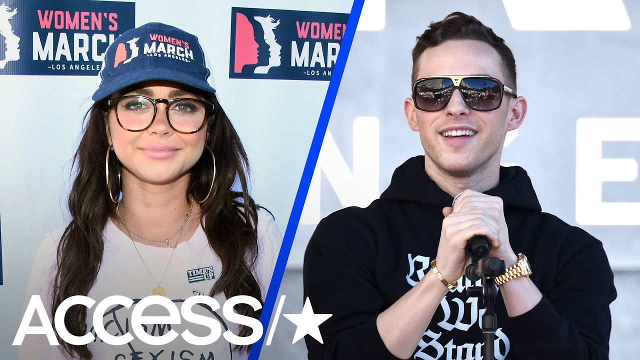 Sarah Hyland, Adam Rippon & More Show Their Support For The Women's March In LA   Access