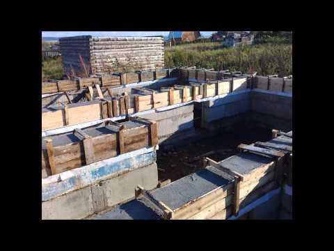 видео: Начало строительства своего дома. Своими руками, без опыта