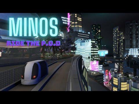 Cities Skylines | Minos POD ride |