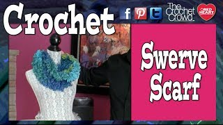 How to Crochet a Scarf: Swerve Scarf in 1 Minute