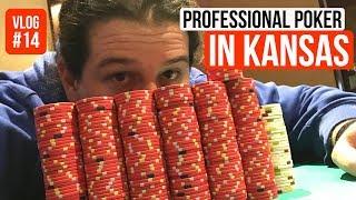 Profession Poker in Kansas l Poker VLog 14 l Week 18