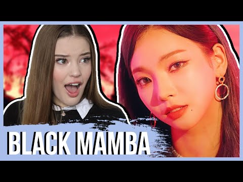 aespa 에스파 'Black Mamba' MV REACTION | Lexie Marie