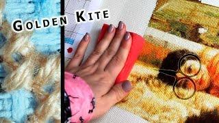 Golden Kite 683 - Dolce Far Niente // Этап  #3. Процесс вышивки.