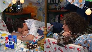 Gambar cover The Late Show Blanket Fort (with Lily Tomlin)