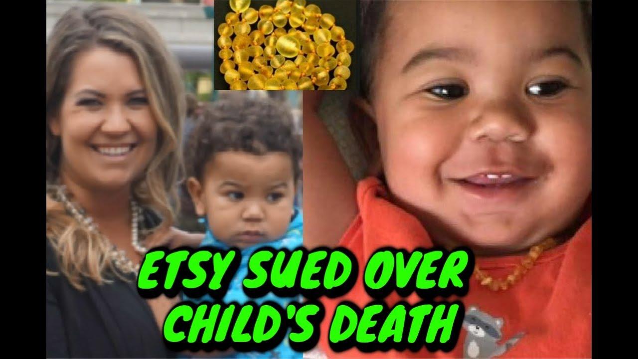 e0cd04d5ceed Mother Suing Etsy   Seller for Child Strangulation - YouTube