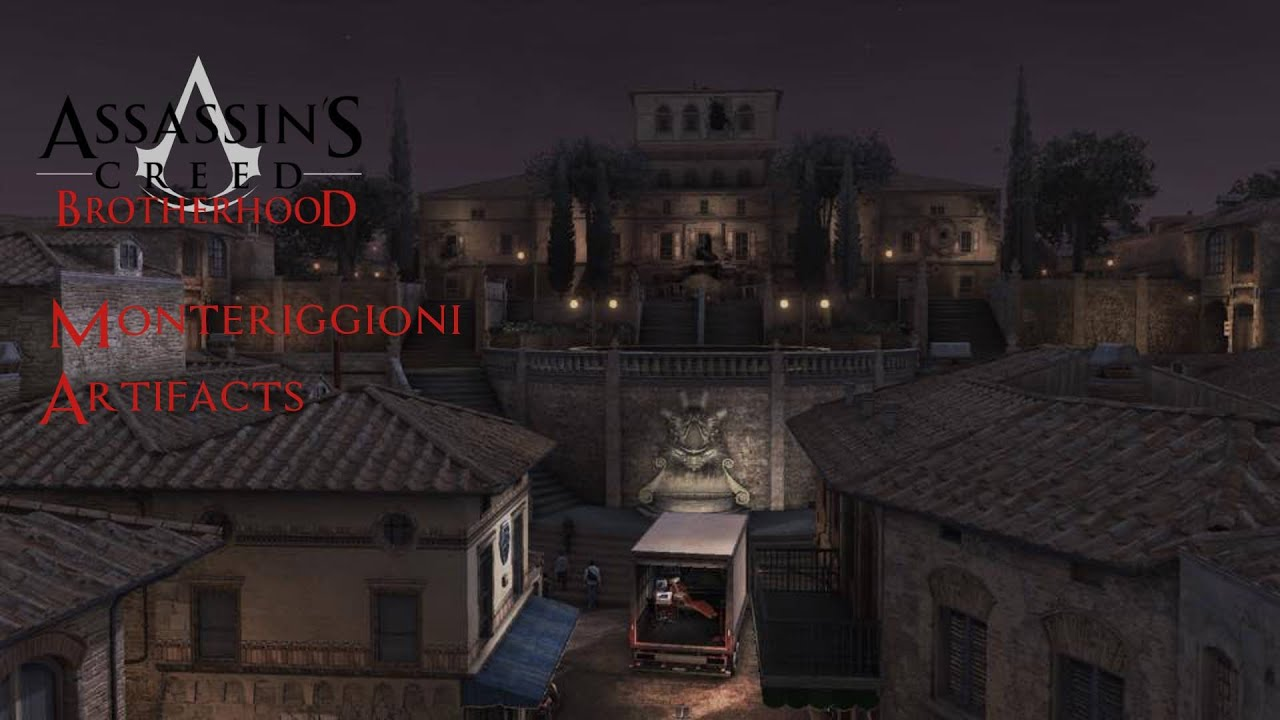 Assassin S Creed Brotherhood Monteriggioni Artifacts Youtube