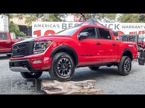2020 Nissan Titan Full Size Pickup Powerful Warrior Youtube