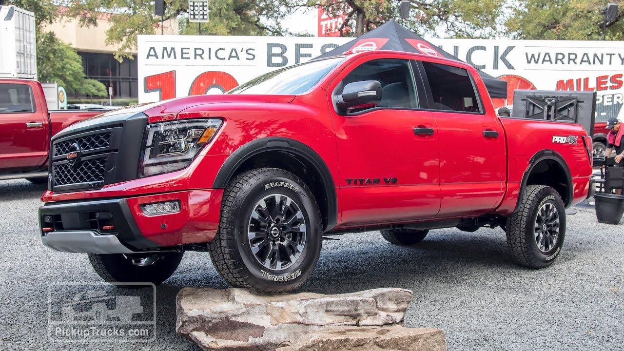 New 2020 Nissan Titan For Sale At Nissan Of Wichita Falls Vin 1n6aa1ed6ln501689