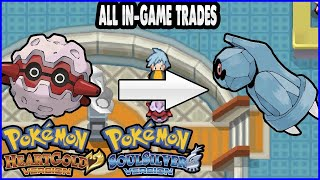 Pokemon HeartGold and SoulSilver - All In-Game Trades