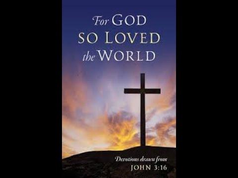 John 3:16 Explained For Yahowah love the world ( Israel ) Pt 2