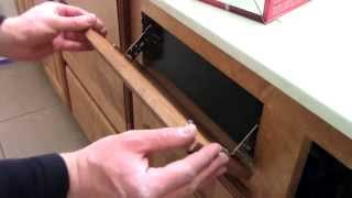 How To Install Kitchen / Bathroom Sink Flip Out Drawers Rev-a-shelf