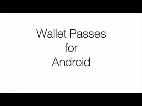 All About Android Wallet Passes App
